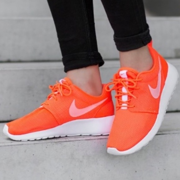 Nike Shoes Womens Roshe One Total Crimson Poshmark